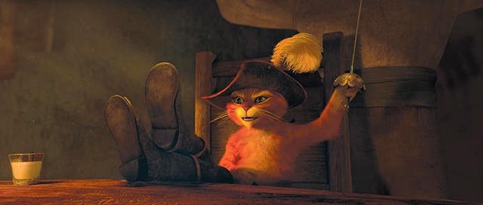 CINEMASCOOP『長靴をはいたネコ』